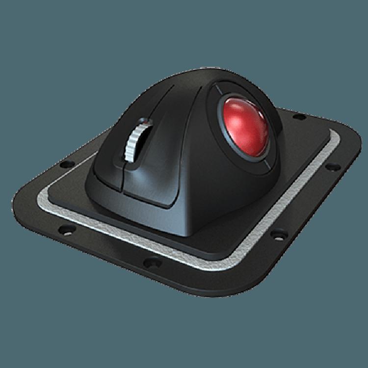 E38-Panel Cursor Controls Trackball