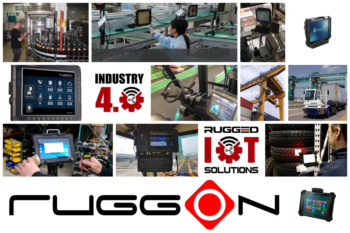 RuggON: Providing your Industry 4.0 and IoT Solutions