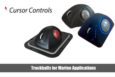 Trackballs for Marine Applications